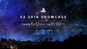 PlayStation E3 2018 Showcase E3